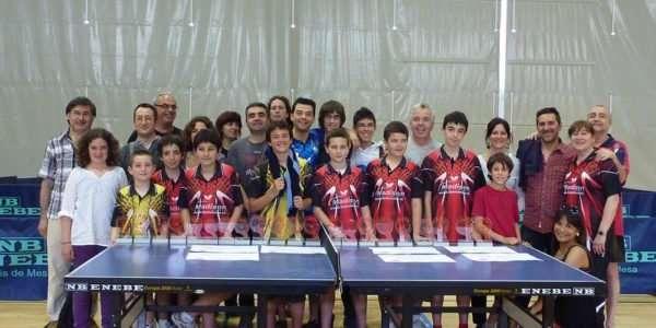 El CTT Olot triomfa als campionats territorials