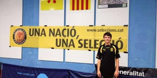 Arnau Roca, valor emergent del tennis taula català i estatal