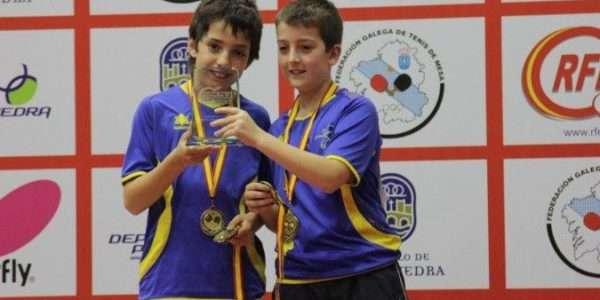 Sergi Bahí Campió d'Espanya Benjamí per equips i tercer en dobles
