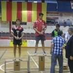 Podi Campionat Catalunya Juvenil 2014