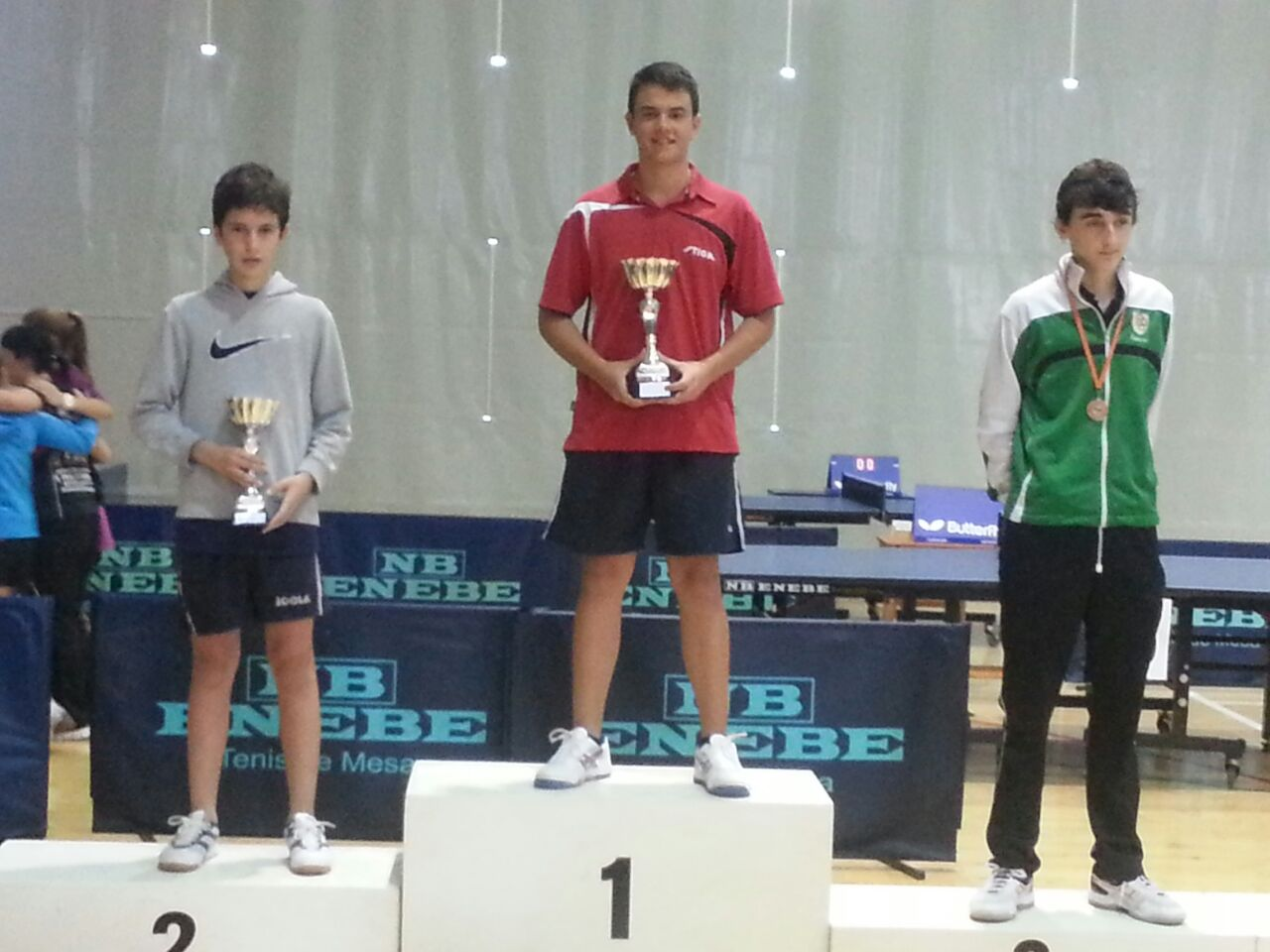 Arnau Roca, campió del Zonal Estatal 2014