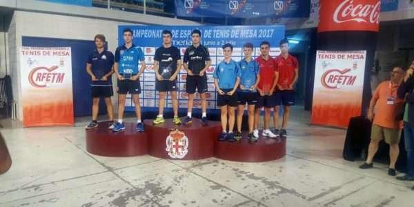 Dos podis d'Arnau Roca als Campionats d'Espanya en dobles