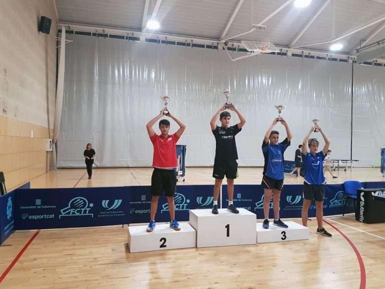 Arnau Roca, sots-campió Zonal Estatal